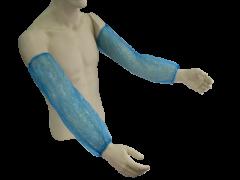 Manguilla Desechable 16 azul