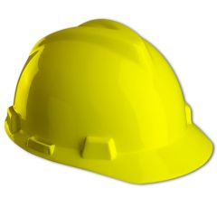 Casco V-Gard Amarillo