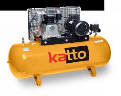Compresor de pistón KATTO 500LTS, 10HP y 380V