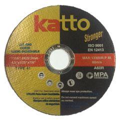 Disco de Corte  Katto Stronger 4-1/2