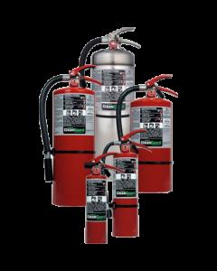 Extintor con Agente limpio Ansul 2,5 Lb