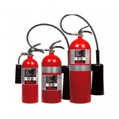 Extintor de Dióxido de Carbono Ansul Acero 20 Lb.