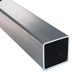 PERFIL CUADRADO INOX 304 3,0 X 50 X 50 MM X (1M)